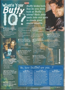 buffy quiz